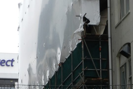 scaffolding wrap