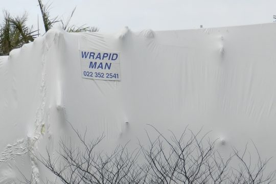 house shrink wrap