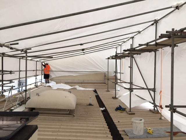 scaffold wrap, building wrap