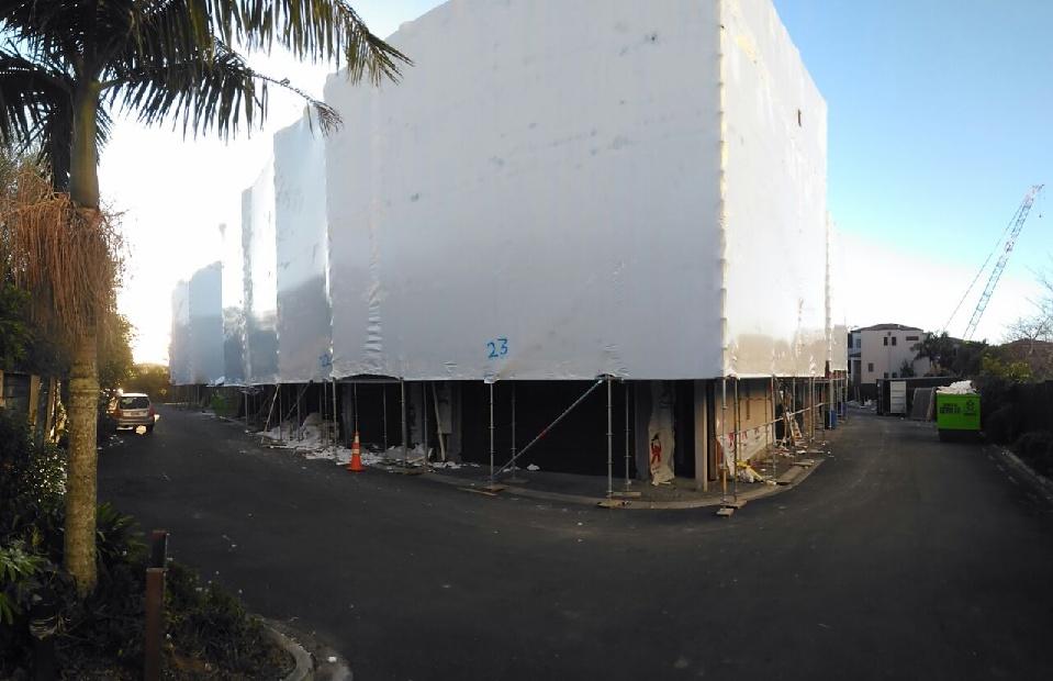 construction protection wrap