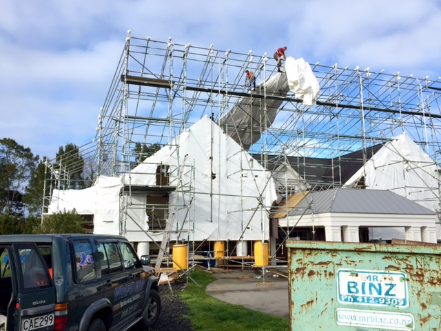house wrap, scaffolding wrap