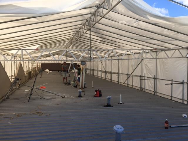 roof plastic wrap, construction wrap