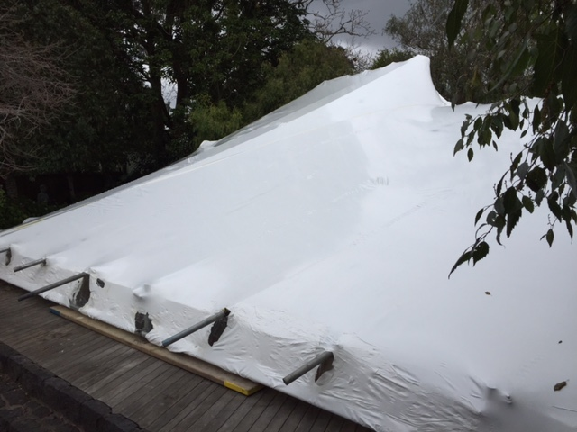 roof weather wrap