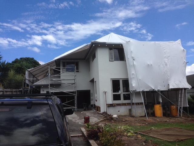 building shrink wrap, house wrap